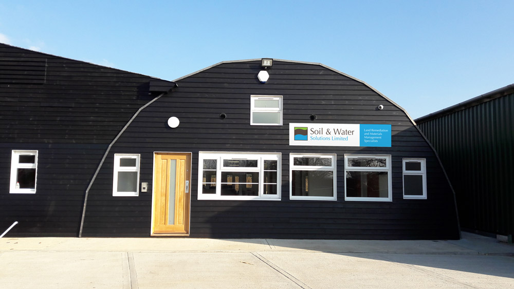 Soil & Water Solutions Ltdmove into their recently refurbished office