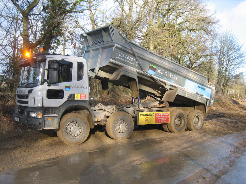 Eight new Scania Tipper lorries